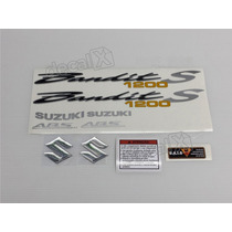 Kit Adesivos Suzuki Bandit 1200s 2007 Azul - Decalx