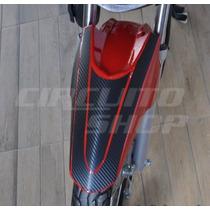 Adesivo Paralama Superior Moto Honda Fan 125 Partir De 2014