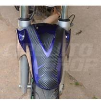 Adesivo Protetor Paralamas Tuning Carbon Moto Honda Cb 300 R