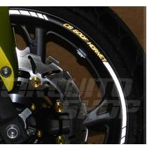 Friso Adesivo Roda Refletivo Rec1 Moto Hornet + Frete Grátis