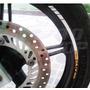 Friso Adesivo Tuning Roda Refletivo M02 Moto Honda Cb 300 R