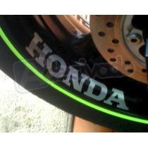 Adesivo Roda Honda Racing Cbr Hornet Cb500 Cb600 Cb300