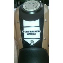 Adesivo Resinado Protetor Tankpad Yamaha Ténéré 250 Preto