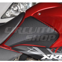 Adesivo Protetor Lateral Tanque Moto Honda Xre 300 Até 2012