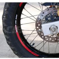 Friso Adesivo Refletivo Tuning Roda Rec01 Moto Honda Xre 300