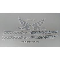 Kit Adesivos Honda Cbx 250 Twister 2004 Azul