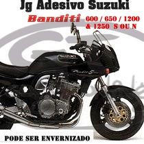 Adesivo Suzuki Banditi 600 / 650 /1200 / 1250 ( Guga Tuning)