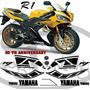 Adesivo Moto Yamaha R1 Modelo 50th Anniversary