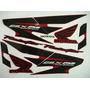 Jogo Adesivo Faixa Cbx 250 Twister 08 Vermelha