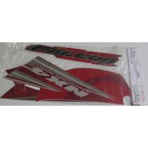 Jogo Faixa Adesivo Nx 400 Falcon 2008 Vermelho