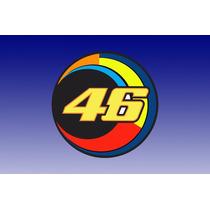 Adesivo 46 Moon Valentino Rossi! Alta Qualidade!!!