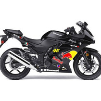 Kit Adesivo Kawasaki Ninja 250r Ninja 250 Tipo Moto Gp