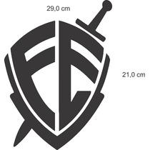 Adesivo Caminhonete Escudo Da Fé - Frete Grátis + Brinde