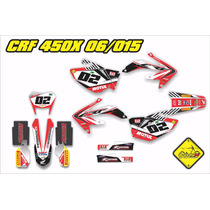 Kit Adesivo Crf 450x 2008/2011 250x 2006/2014 Gravity-x