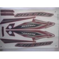 Jogo Adesivos Falcon Nx4 2013 Vermelho -- Frete R$9,90