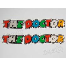 Adesivos The Doctor Valentino Rossi Resinado 2,5x14 Cms