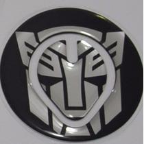 Protetor 3d Bocal Transformers Tanque Moto Honda Bros 150