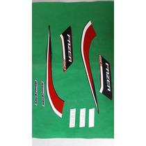 Kit Adesivos Yamanha Fazer 150 Ed Especial 2014 Vermelha