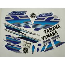 Kit Adesivos Xtz125 2009 Azul, Frete Grátis !