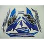 Jogo Adesivo Nx4 Falcon 2000 Azul - Frete R$9,90