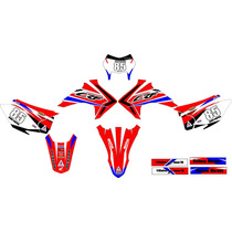 Kit Adesivo Grafico Plotagem Moto Trilha Crf 230 2015 Md 04
