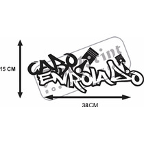 Adesivo Cabo Enrolado + Frete Grátis