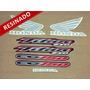 Kit Adesivos Cg Titan 150 Esd 2005 Preta - Resinado - Decalx