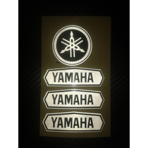 Kit De Adesivo Refletivo Personalizado Para Capacete Yamaha