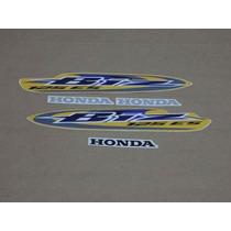 Adesivos Honda Biz 125 2008 Es Amarela (partida Eletrica)