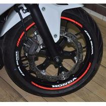 Friso Refletivo Adesivo Roda Interno Moto Honda Cbr 500 R M2