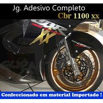 Jg. De Adesivo Paralelo Completo P/ Cbr 1100xx / Guga