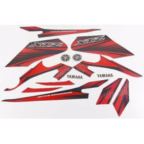 Kit Adesivos Yamaha Xtz 125 2012 2013 Vermelha