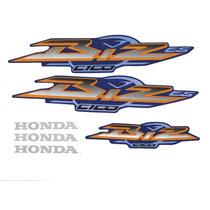 Kit Adesivos Honda Biz C 100 Es 2003 Azul