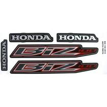 Kit Adesivos Honda Biz 100 2013 Preta - Frete R$9,90