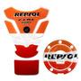 Kit Protetor Tanque Bocal Honda Cbr 600rr Repsol