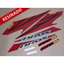 Kit Adesivos Nxr150 Ks Bros 2008 Preta - Resinado - Decalx