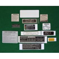 Adesivos Advertencia Honda Cbx 750 89 7galo Canadense