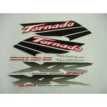 Conjunto Adesivos Tornado 2003 Branca, Pronta Entrega !