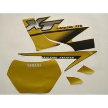 Kit Adesivos Xt225 2002 Dourada, Frete Grátis !
