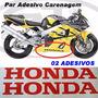 Adesivo Carenagem (par) Honda-yamaha-suzuki-kawasaki-ducati