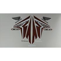Kit Adesivos Honda Cg Titan 150 Esd Ex 2014 Branca
