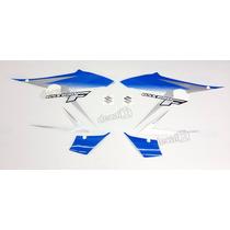 Kit Adesivos Gsx 650f 2012 Azul E Prata - Decalx