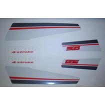 Kit Adesivos Honda Ml 125 1987 Preto