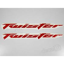 Adesivos Twister Resinado 2006 - 2008 Vermelho Refletivo
