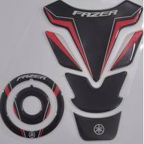 Protetor Tanque Tankpad + Bocal M11 Moto Yamaha Ys Fazer 250
