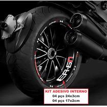 Adesivo Friso Refletivo Kawasaki Er-6n + Adesivo Inter. Top