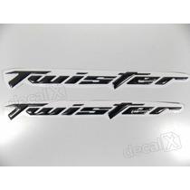 Adesivos Twister Resinado 2006 - 2008 Preto - Decalx