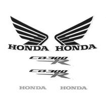 Kit Adesivos Honda Cb 300r 2013 Amarela