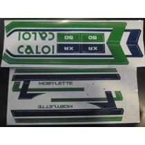 Jogo De Faixa Mobilete (caloi Xr 87 / 88)