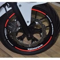 Friso Refletivo Adesivo Roda Interno Moto Honda Cb 500 X M1